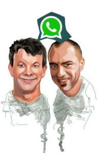 ciradores do aplicativo WhatsApp